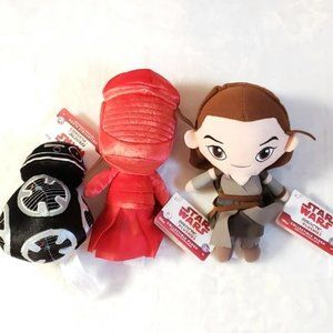 DISNEY Star Wars Galactic Collectible Plushies NWT